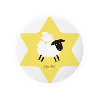 羊の上にとどまる鳩 Badges