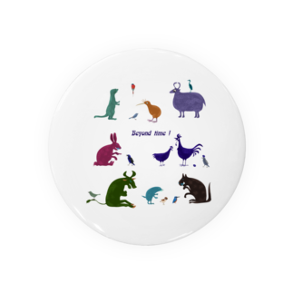nachau7の動物たちからのメッセージ Badges
