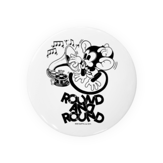 Booty the baby baboonのROUND AND ROUND BOOTY Badges