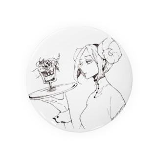 架空パフェ庵[夢喰の羊] Badges