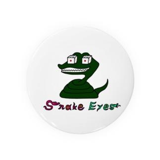snake eyes Badges