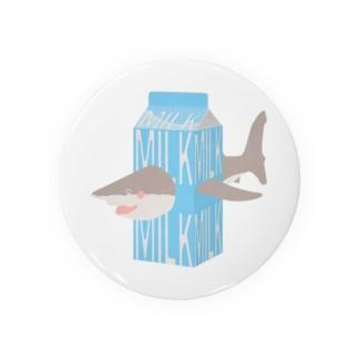 サメ ミルク Badges