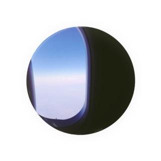 飛行機の窓 Badges