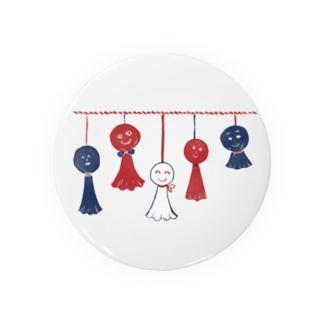 【日本レトロ#11】てるてる坊主 Badges