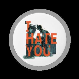 理想のTシャツ屋さんのI HATE YOU Badges