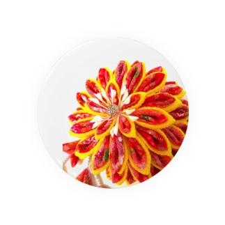 赤花咲いた Badges