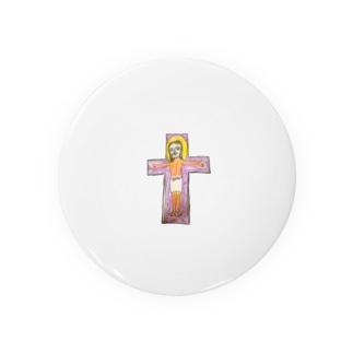キリスト(変なおじさんみたいになったやん) Badges