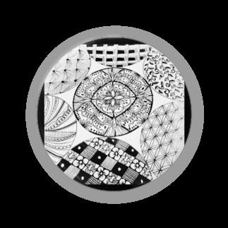 hitomin311のZentangle Badges