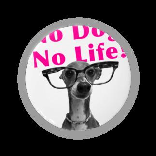 イロハのNo dog,No life! ピンク Badges