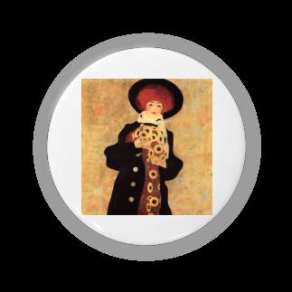 Art Baseのエゴン・シーレ / 1909 / Woman with Black Hat / Egon Schiele Badges