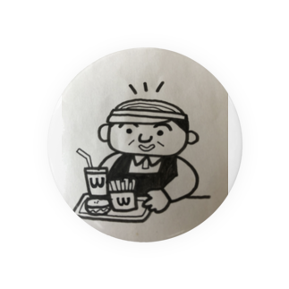 nico502のバーコード店長   ファーストフード編 Badges