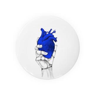 Heart オテテ Badges