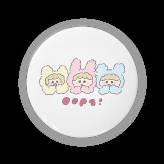 HOSHINOMAAのCotton Animals! Oops! Badges