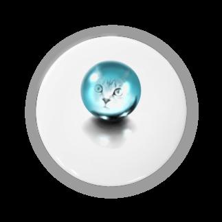TAKUMの水晶と猫 Badges