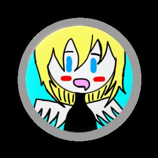 市イラストグッズショップの天然天使ちゃん Badges