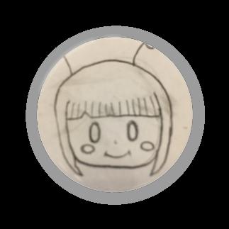市イラストグッズショップの可愛い宇宙人ちゃん Badges