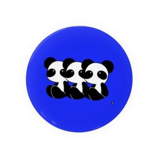 パンダ1 Badges