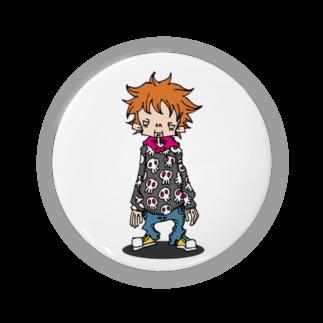 idogaeru's workshopのBOY Badges