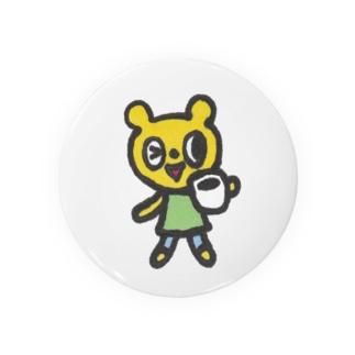 Cafeクマ Badges