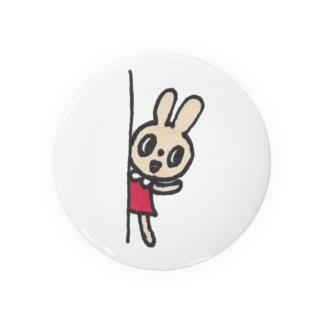 ひょっこりウサギ Badges