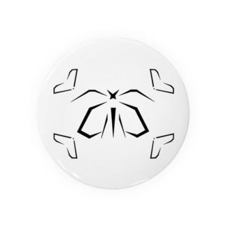 カカオ~Geometric Botany Badges