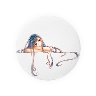 不自由少女の原画 Badges