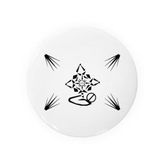 蓮~Geometric Botany Badges