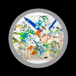 混沌コントロール屋さんのカラフル3 Badges