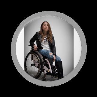 中嶋涼子の車椅子ですがなにか?!のロゴなしシリーズ Badges