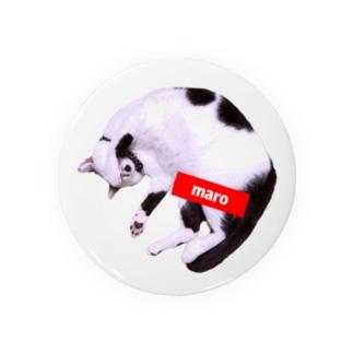 マロちゃんT(ロゴ) Badges