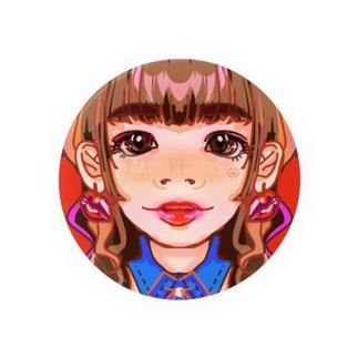 lun lun. girl  Badges