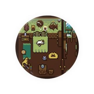 落ち着く寝室 Badges