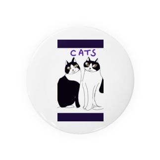猫ちゃんたち Badges