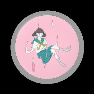 KEIchanの女の子の缶バッジ Badges