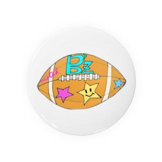 Love&びーず [ラグビーボール] Badges