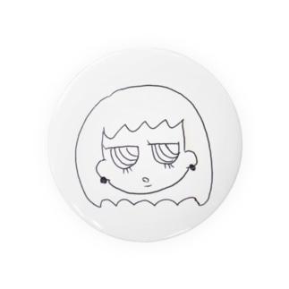 ジト目ちゃん Badges
