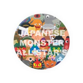 JAPANESE MONSTER ALL STAR'S Badges