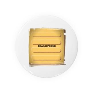 点字ブロック(視覚障害者誘導ブロック) Badges