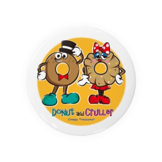 Creepy Treasures!のDonut and Cruller Badges