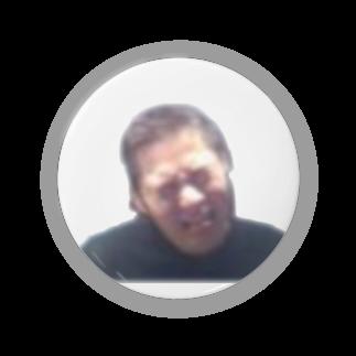 アマゴンショップのアマゴン(苦しむ顔) Badges