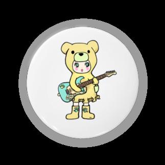 Suzuki Satomi イラストショップのベアミちゃん Badges