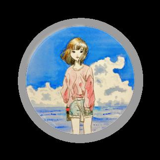 せみSHOPの海とコーラ Badges
