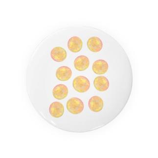 水草のオレンジ玉いっぱい Badges