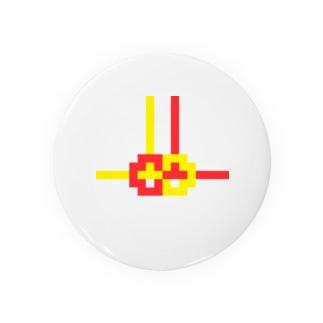 ドット水引(あわじ結び) Badges
