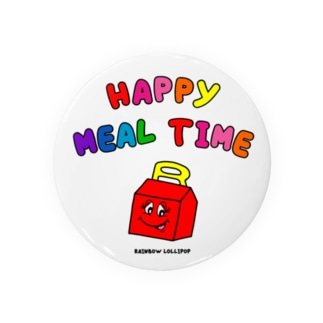 HAPPY MEAL TIME Badges