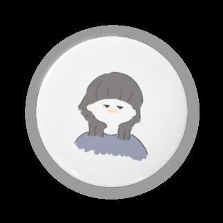suzuのウルフ女子(白) Badges