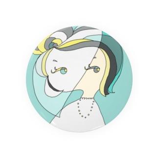 December Girl-Turquoise Badges