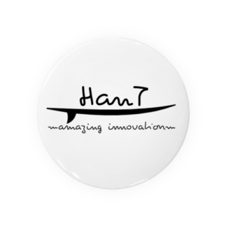 HanT online shopのHanTロゴ Badges