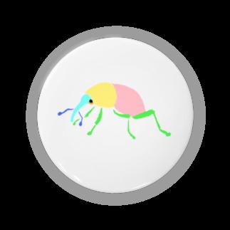 チャソの巣のゾウムシ Badges
