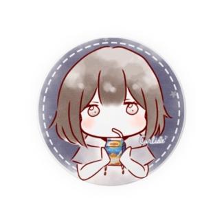 ミルクティー少女 Badges